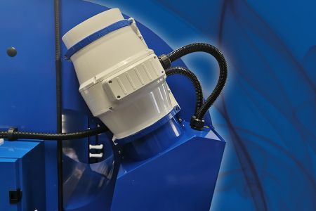New Tunnel Feature: Automatically operated, sealed extraction systems.